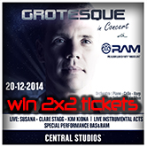 20.12.2014 Grotesque in Concert with RAM #WIN TICKETS