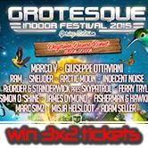 21.03.2015 Grotesque Indoor Festival 2015, Rotterdam (NL) # Win Tickets