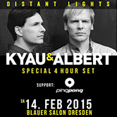 "14.02.2015 Kyau & Albert ""Distant Lights"" Album Release Party, Dresden (GER)"