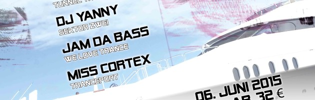 06.06.2015 We Love Trance @ MS Viktoria,  Elbe – Hamburg