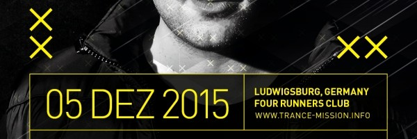 05.12.2015 Trance.Mission, Ludwigsburg (GER)