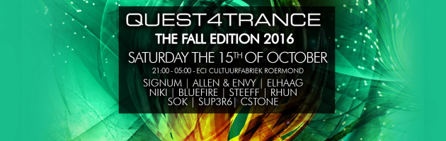 "15.10.2016 Quest4Trance ""The Fall Edition"", Roermond (NL)"