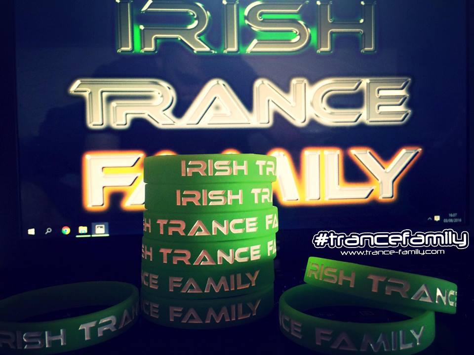 irish trance family wristband