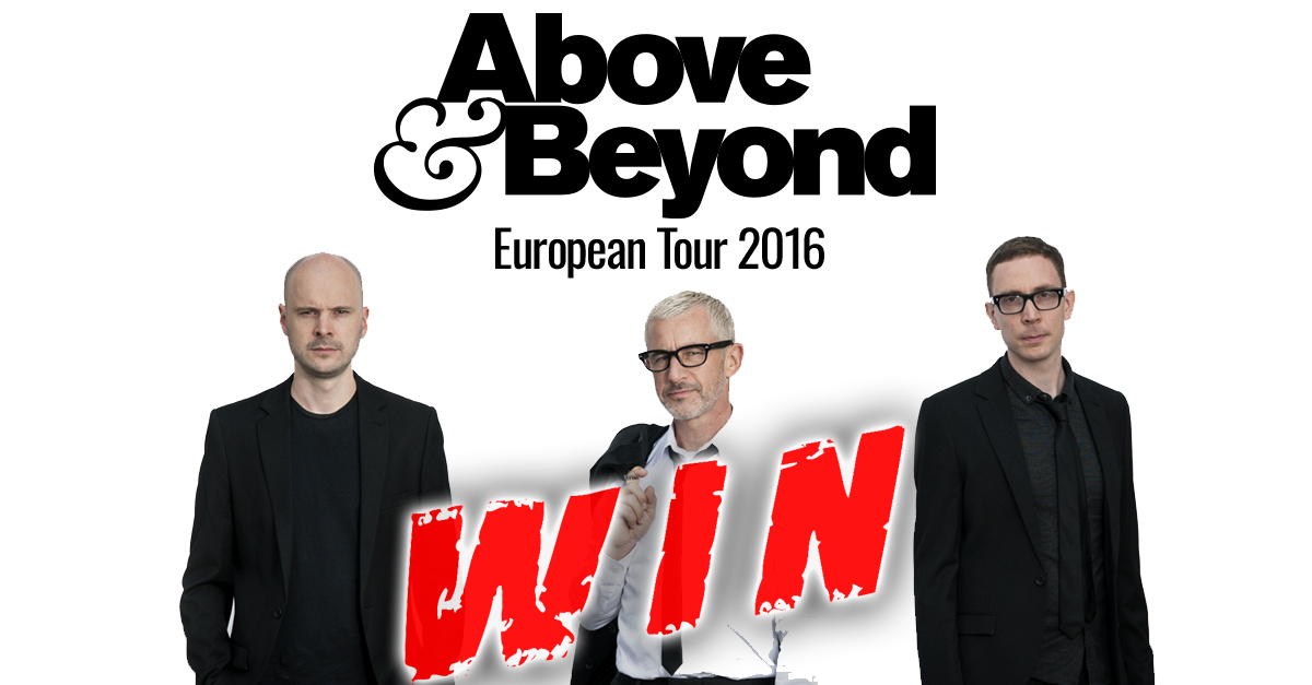 Above beyond european tour 2016 win tickets trancefamily for Above beyond salon