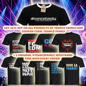 TranceFamily Shirt Shop Offer