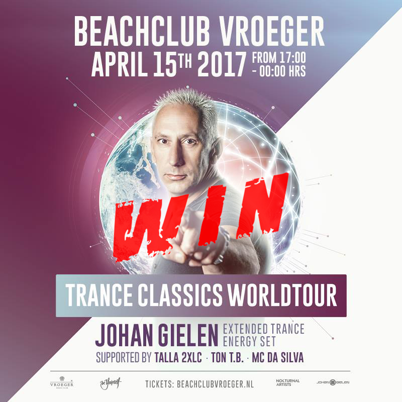 15.04.2017 Johan Gielen Trance Classics World Tour, Beachclub Vroeger square WIN