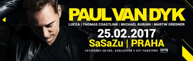 Paul Van Dyk Praha – SaSaZu 25.02.2017