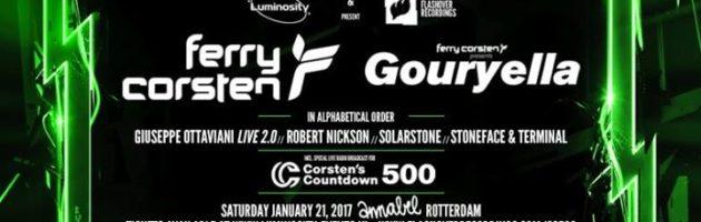 Luminosity & Flashover presents Ferry Corsten's Countdown 500
