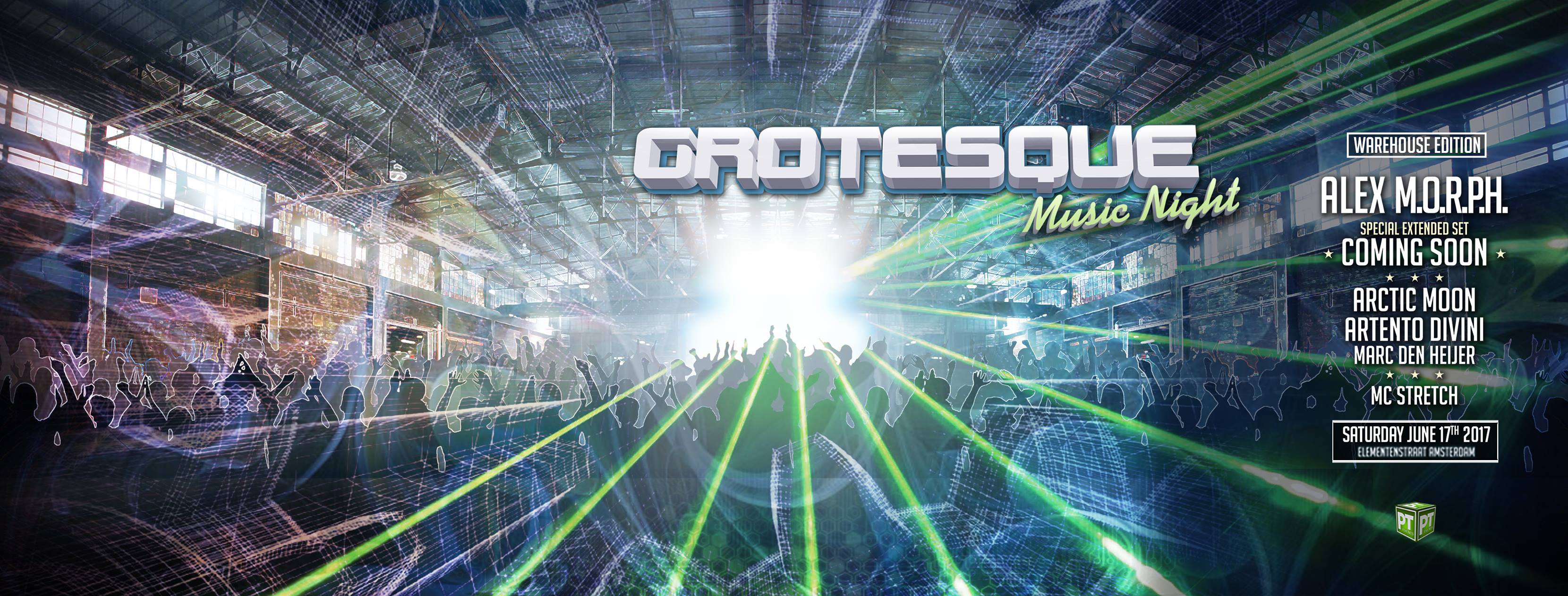 17.06.2017 Grotesque Music Night, Amsterdam