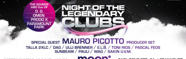 16.04.2017 Technoclub pres. Night of the legendary Clubs, Frankfurt a.M. (DE)