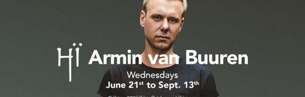 U R with Armin van Buuren – 9th Aug – Hï Ibiza