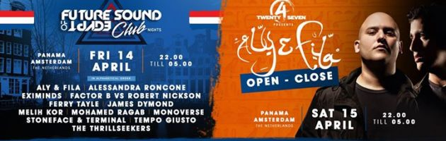 Amsterdam FSOE Club Night + Aly & Fila (Open To Close)