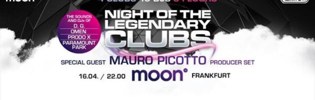 Night of the legendary Clubs