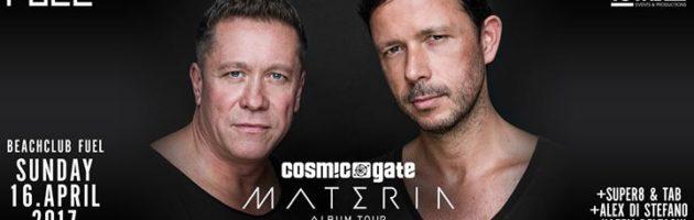 Beachclub Fuel presents: Cosmic Gate Materia album Tour