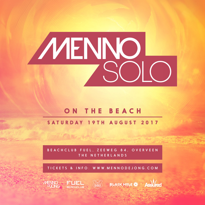 19.08.2017 Menno Solo 2017 - On The Beach, Beachclub Fuel (NL)