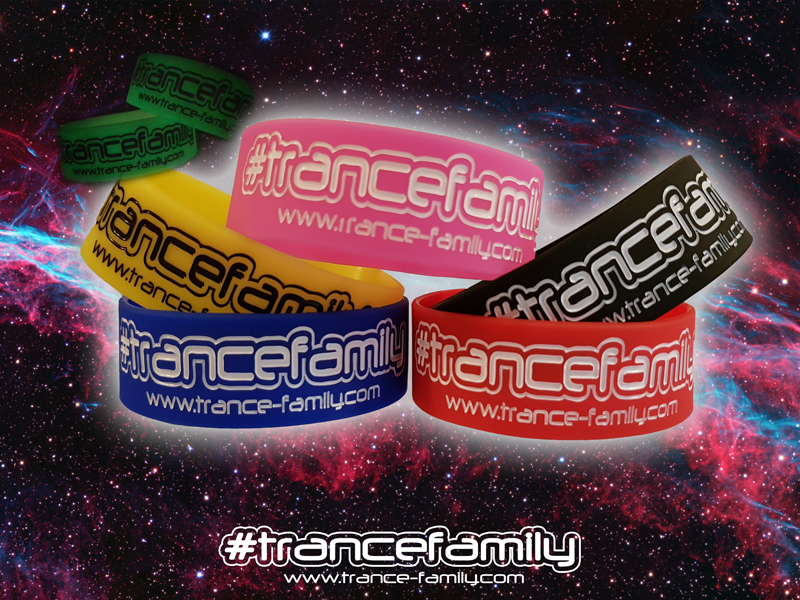 #TranceFamily wristbands