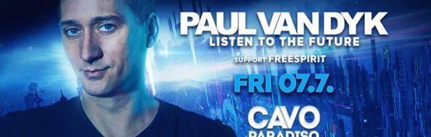 Paul van Dyk w/ support by Freespirit