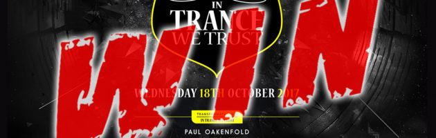 18.10.2017 In Trance We Trust ADE Festival, Amsterdam (NL) #WIN TICKETS