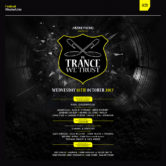 18.10.2017 In Trance We Trust ADE Festival, Amsterdam (NL)