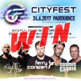 24.06.2017 CityFest, Pardubice (CZ) #WIN TICKETS