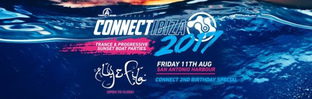 Connect Ibiza Boat Party 11th Aug 17 [Connect 2nd Bday Special]