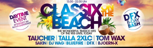 29.07.2017 Classix on the Beach + Afterparty, Darmstadt (DE)