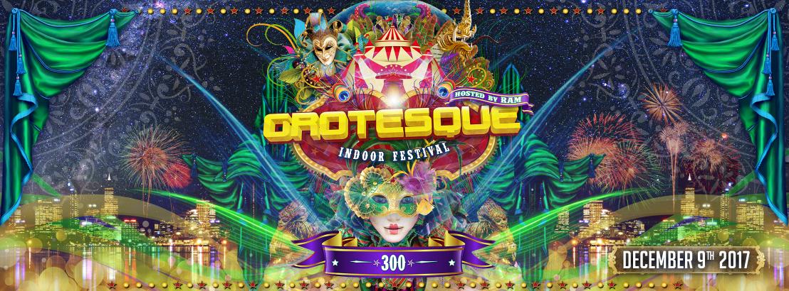 09.12.2017 Grotesque Indoor Festival #300, Rotterdam (NL)