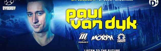 Paul van Dyk, Alex MORPH, Madwave at D! Club, Lausanne