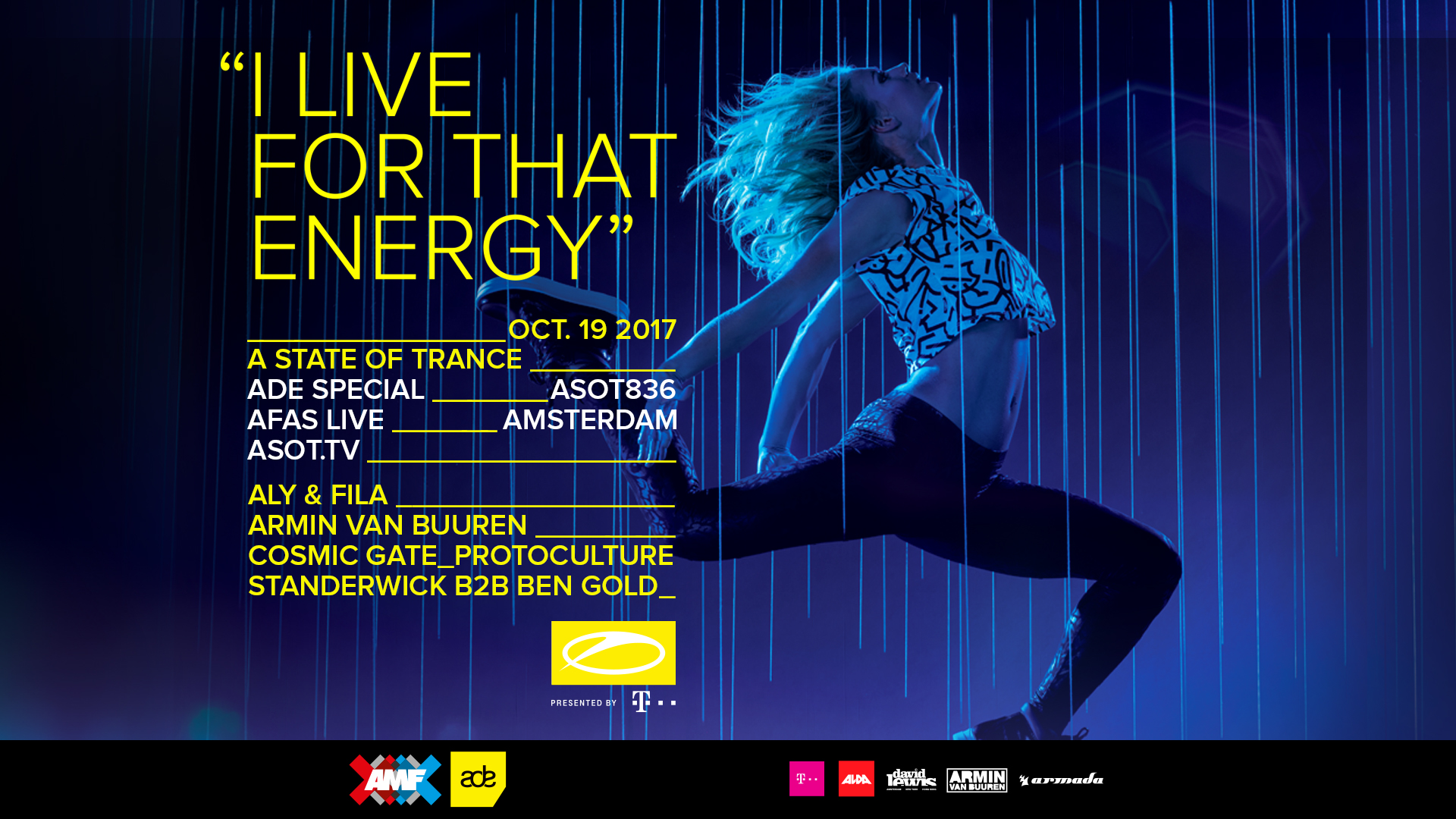 19.10.2017 A State Of Trance - ADE Special, Amsterdam