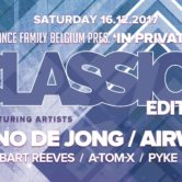 "16.12.2017 In Private ""The Classics Edition"", Beveren (BE)"