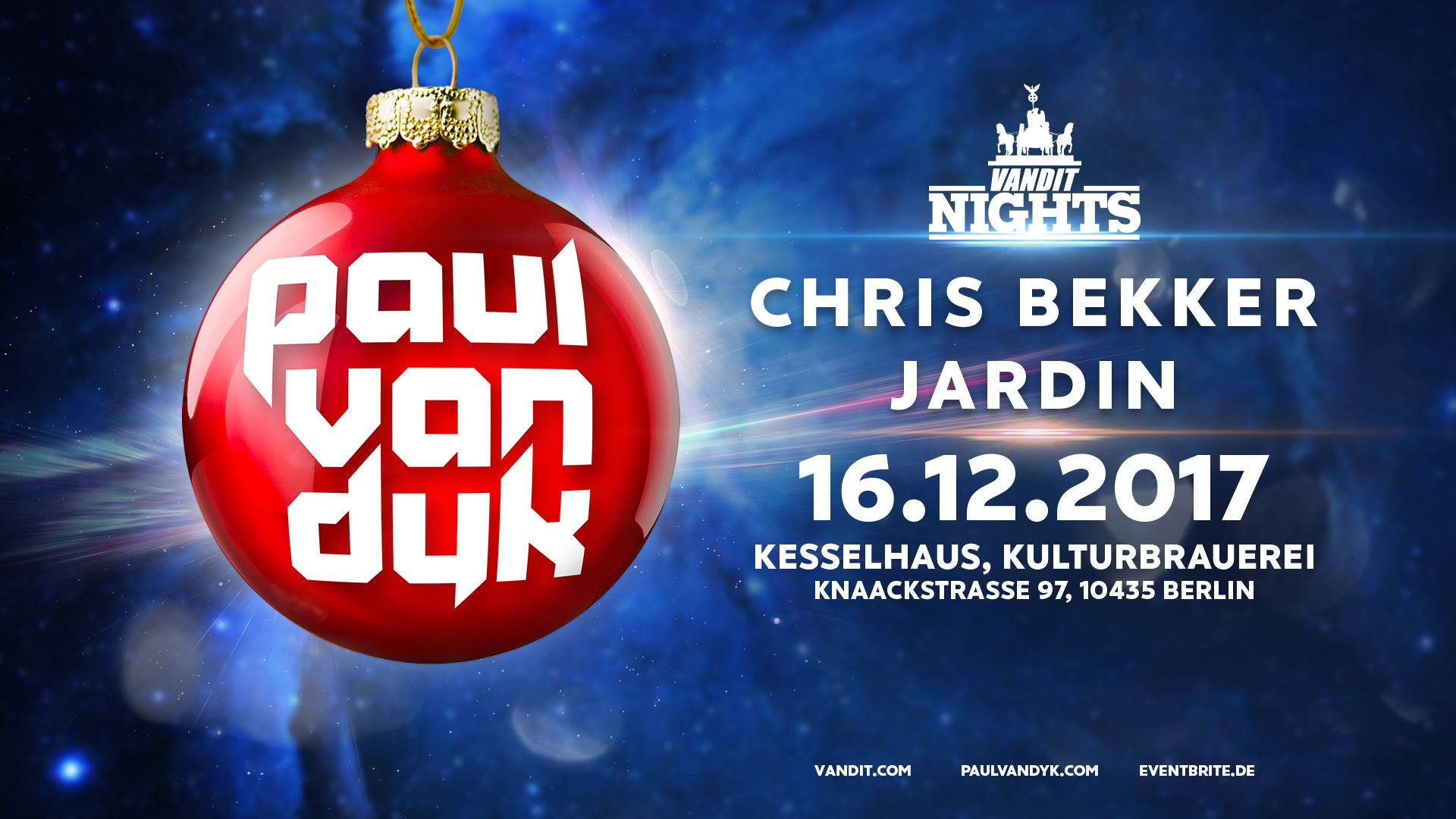 16.12.2017 Winter Vandit Night, Berlin (DE)