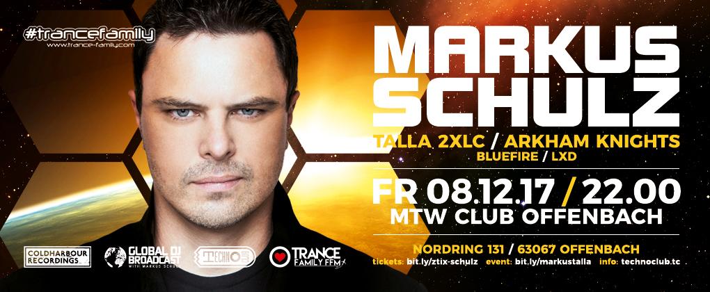 08.12.2017 TranceFamily FFM & Technoclub pres. Markus Schulz, Offenbach