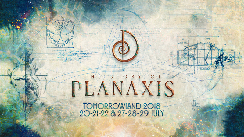 The Story Of Planaxis Tomorrowland 2018