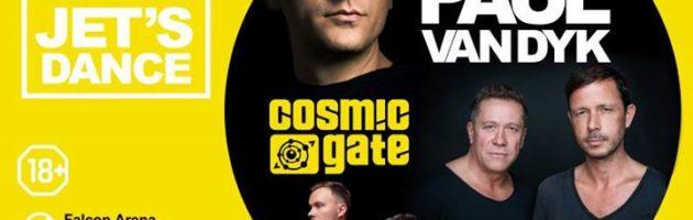 Jet's Dance: PVD, Cosmic Gate