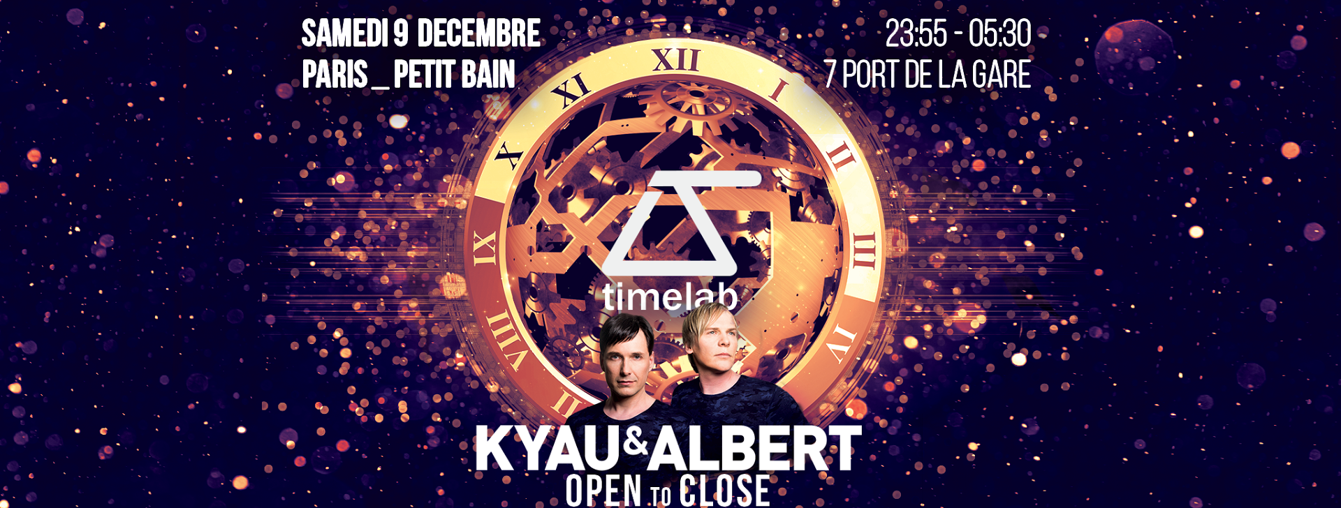 09.12.2017 Kyau & Albert open2close, Paris