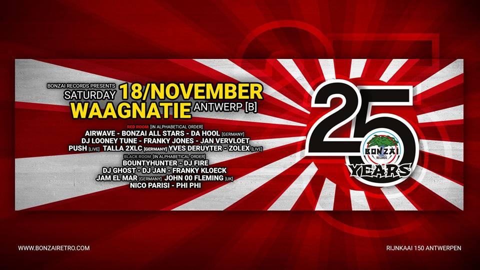 18.11.2017 25 Years Bonzai, Antwerp (B)