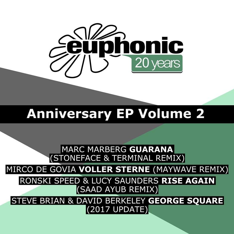 Euphonic 20 Years Anniversary EP Volume 2