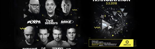 03.03.2018 Trancenation, Prague (CZ)