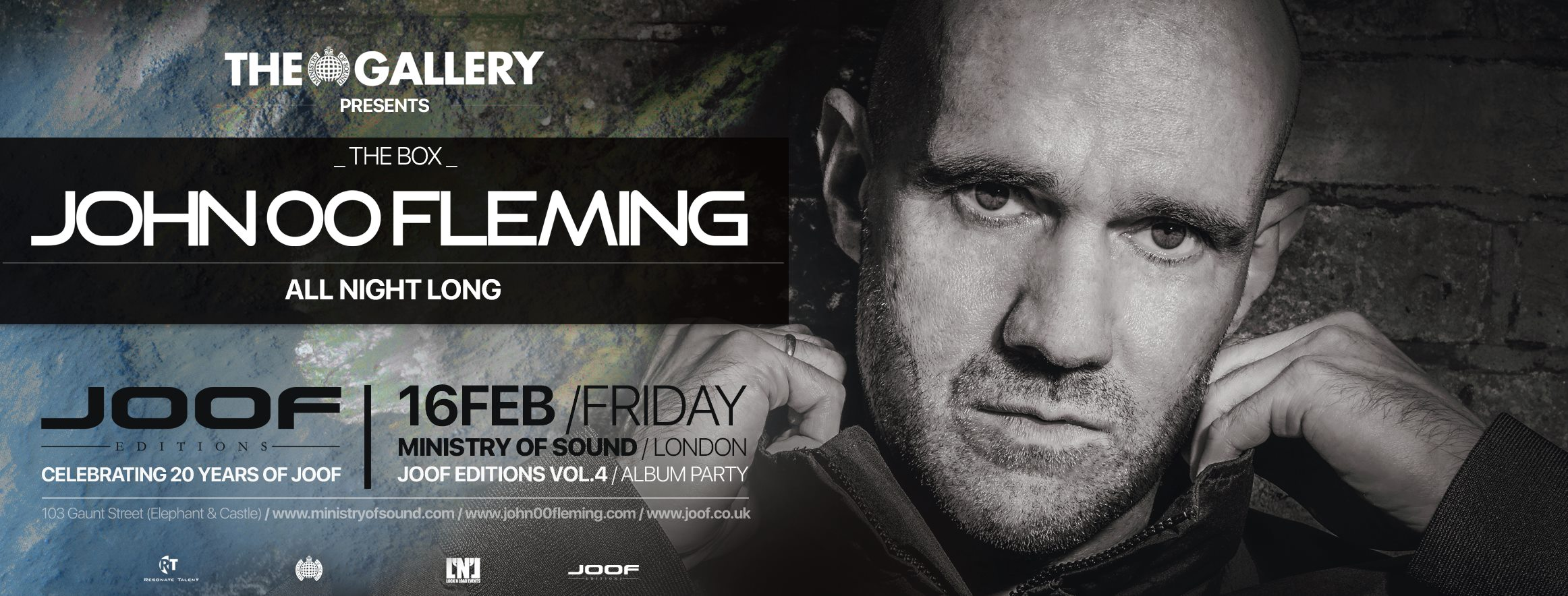 J00f Editions 4 The Gallery Ministry of Sound