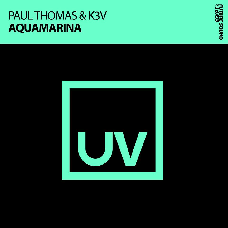 Paul Thomas & K3V - Aquamarina