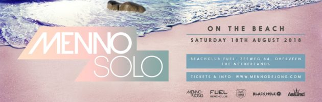 18.08.2018 Menno Solo – On The Beach, Bloemendaal (NL)