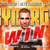 28.04.2018 Synergy, Zürich (CH) #WIN TICKETS