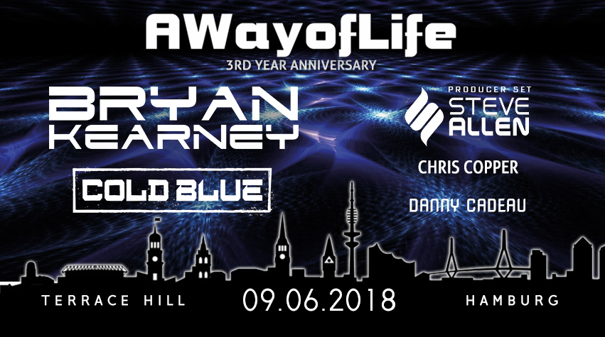 09.06.2018 A Way of Life – 3rd year anniversary, Hamburg (DE)