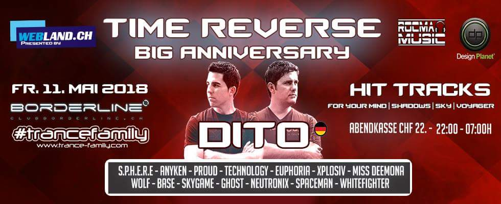 11.05.2018 Time Reverse Big Anniversary, Basel (CH)