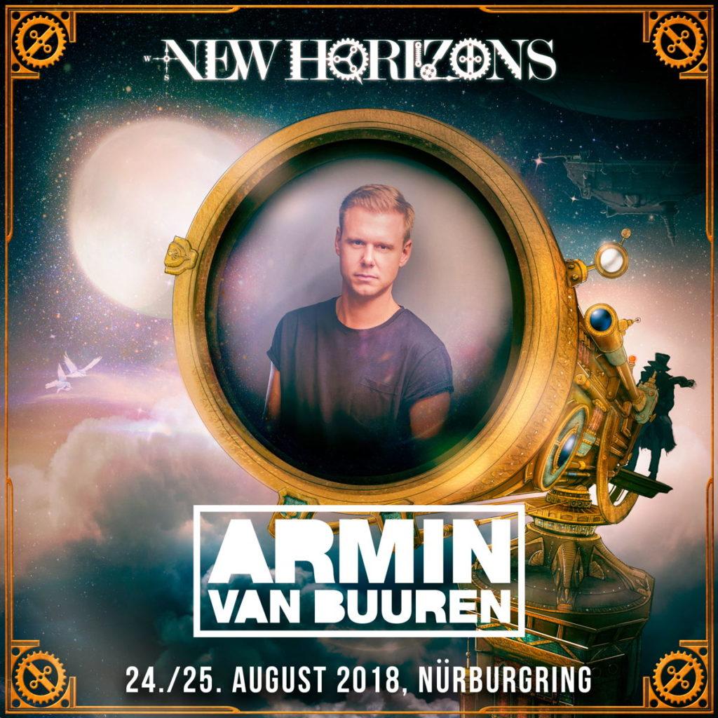 24.-25.08.2018 New Horizons, Nürburgring (DE) Armin van Buuren