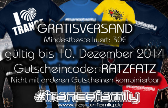 TranceFamily Germany – Shop Aktion