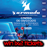 06.-09.07.2015 Papaya pres. Armada Day & Night Festival, Pag (CRO) #Win Tickets