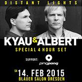 "14.02.2015 Kyau & Albert ""Distant Lights"" Album Release Party, Dresden (GER)"