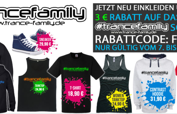 "TranceFamily Germany ""3 Jahre"" Shop Aktion"