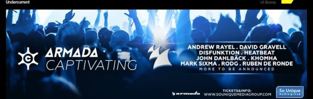 Armada Captivating' hits Amsterdam Dance Event 2015